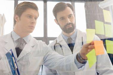 doctors having work meeting