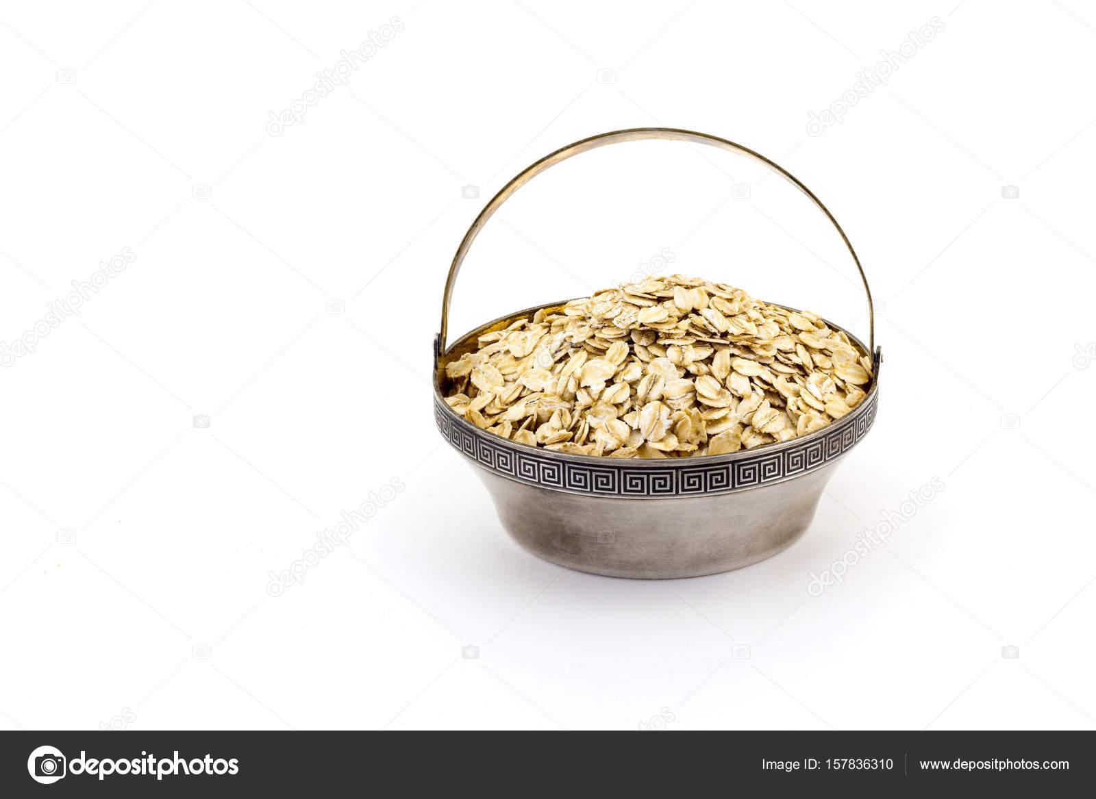 La avena arrollada se puede comer cruda