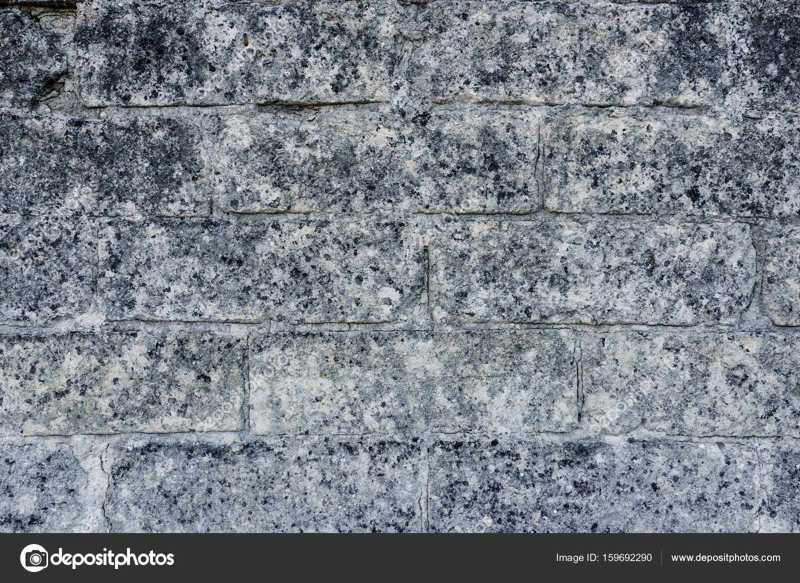 Tiled ancient stone wall as background and copy space — Stock Photo ...