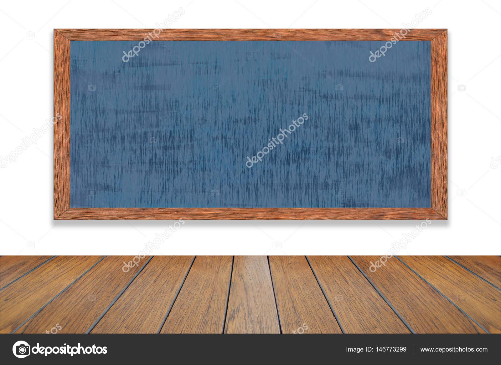 Cadre en bois noir dans la chambre, Abstract craie frottée le ...