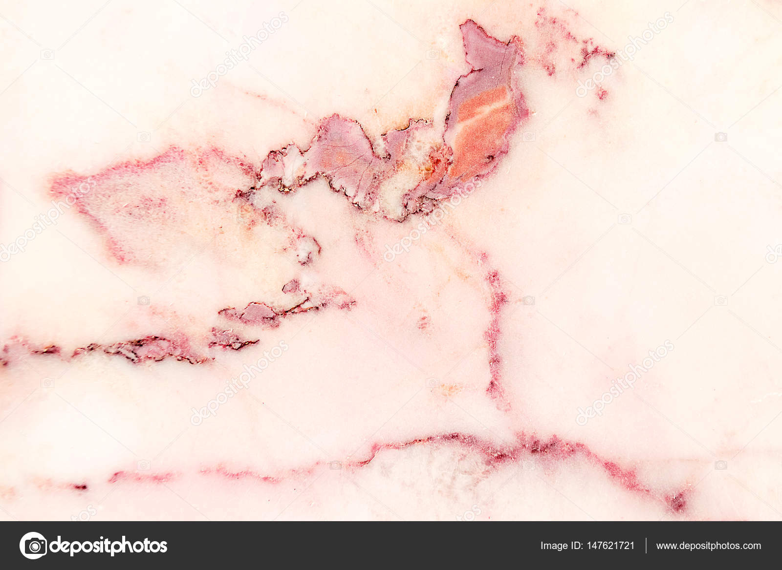 Marmo Rosa Fantasia Texture Sfondo Marmo Dettagliata Genuino Dalla