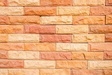 Stone Cladding texture background.
