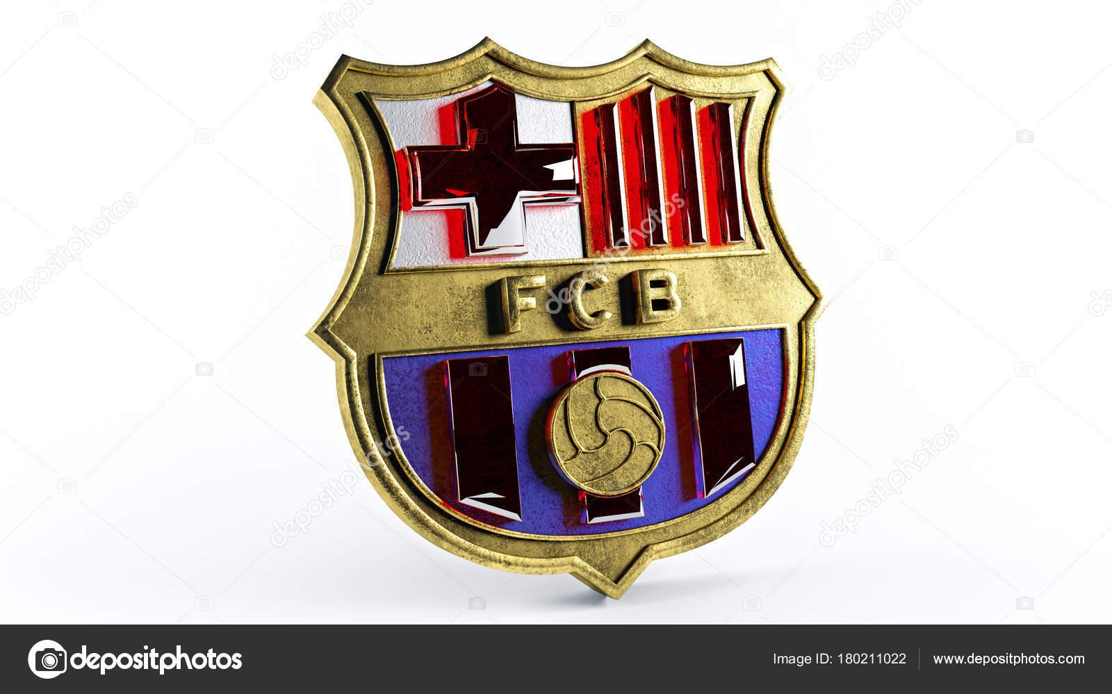 Barcelona Logo Gold Stock Editorial Photo C Bbserdar 180211022