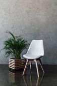 Photo Modern white chair