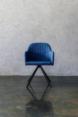 Modern blue chair