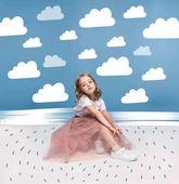 Fényképek Imádnivaló lány rózsaszín szoknya