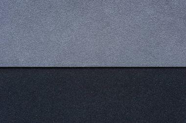Gray and black wall