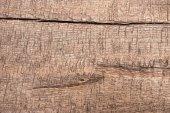 Detailní záběr hnědé dřevěné textury