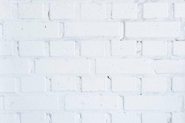 Building wall with white bricks background stock vector