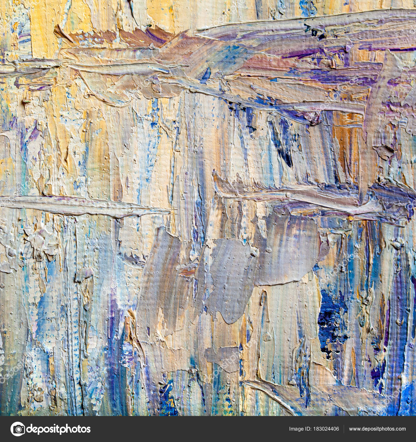 abstract paintings hand drawn oil painting color texture stock