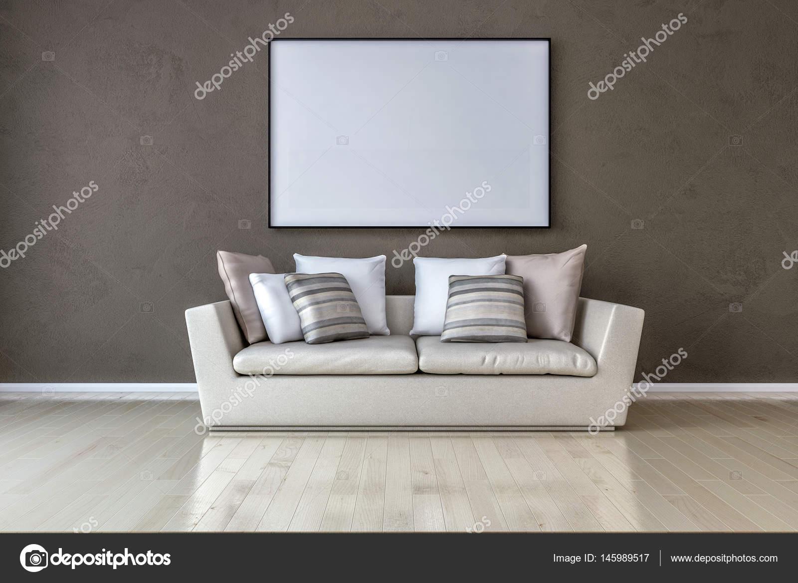 Pareti In Tela : Tela stanza parete verde interno bianco galleria vuoto