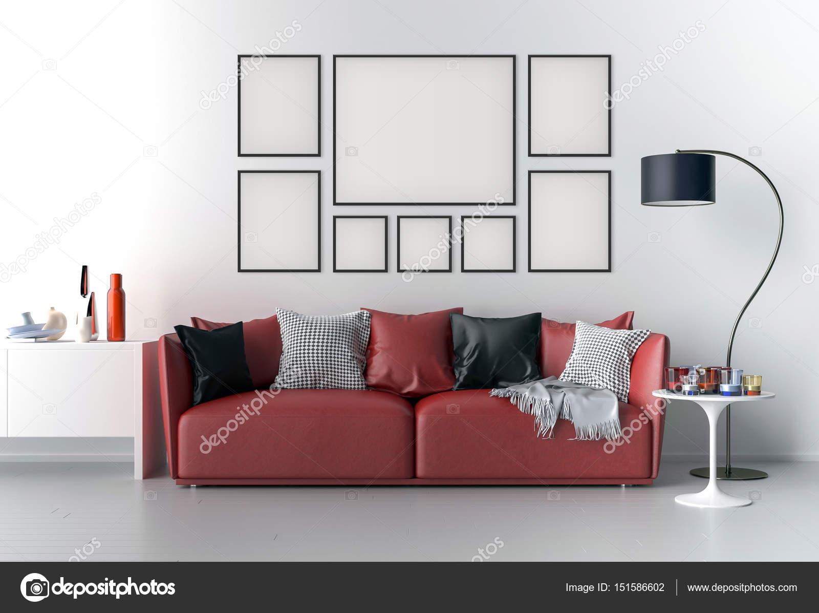Bild Rahmen innen gesetzt Mock-up — Stockfoto © pozitivo #151586602