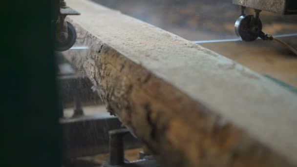 Close-Up,sawmill Sawing Boards Circular Saw Beam Attached to the Frame
