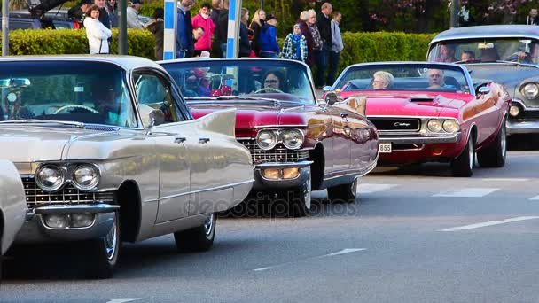 Meeting of a vintage cars