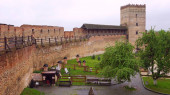 Lutsk Castle or Lubart Castle - the upper castle of Lutsk, one of two (partially) preserved castles. Starting from the 11th century, an ancient Russian Lutsk detinet existed at this place, which is mentioned in the annals of 1085.