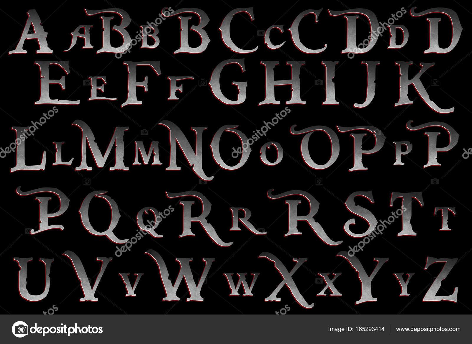 Fondo Alfabeto Pirata Piratas Del Caribe Motín Colección Letras