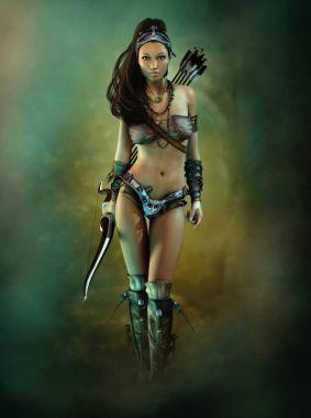 The Bow Huntress