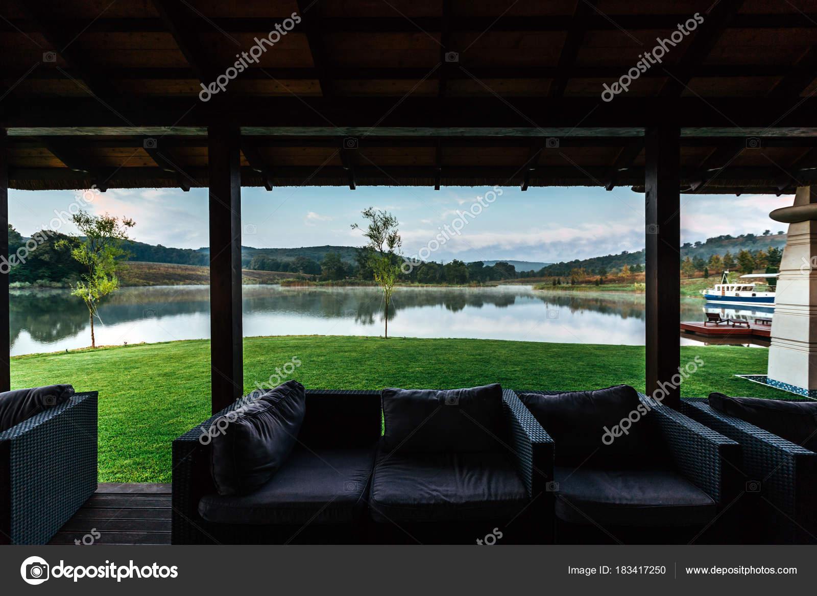 Ort Zum Entspannen Auf Der Veranda Veranda Modernes Interieur ...