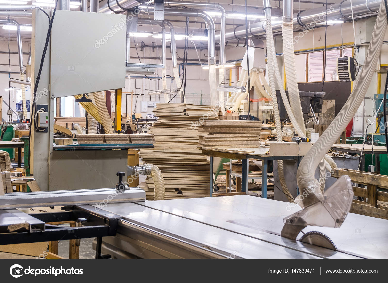 Genial Workshop For The Production Of Wooden Furniture In The Factory U2014 Stock Photo