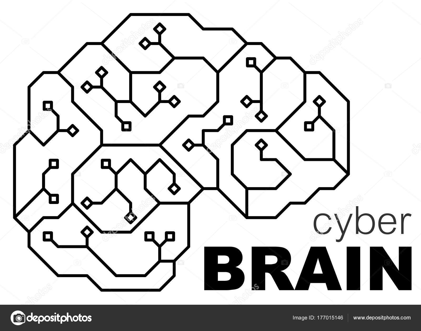 Vector Printed Circuit Board Human Brain Concept Illustration Cpu Pcb 13 Royalty Free Stock Photos Image Center
