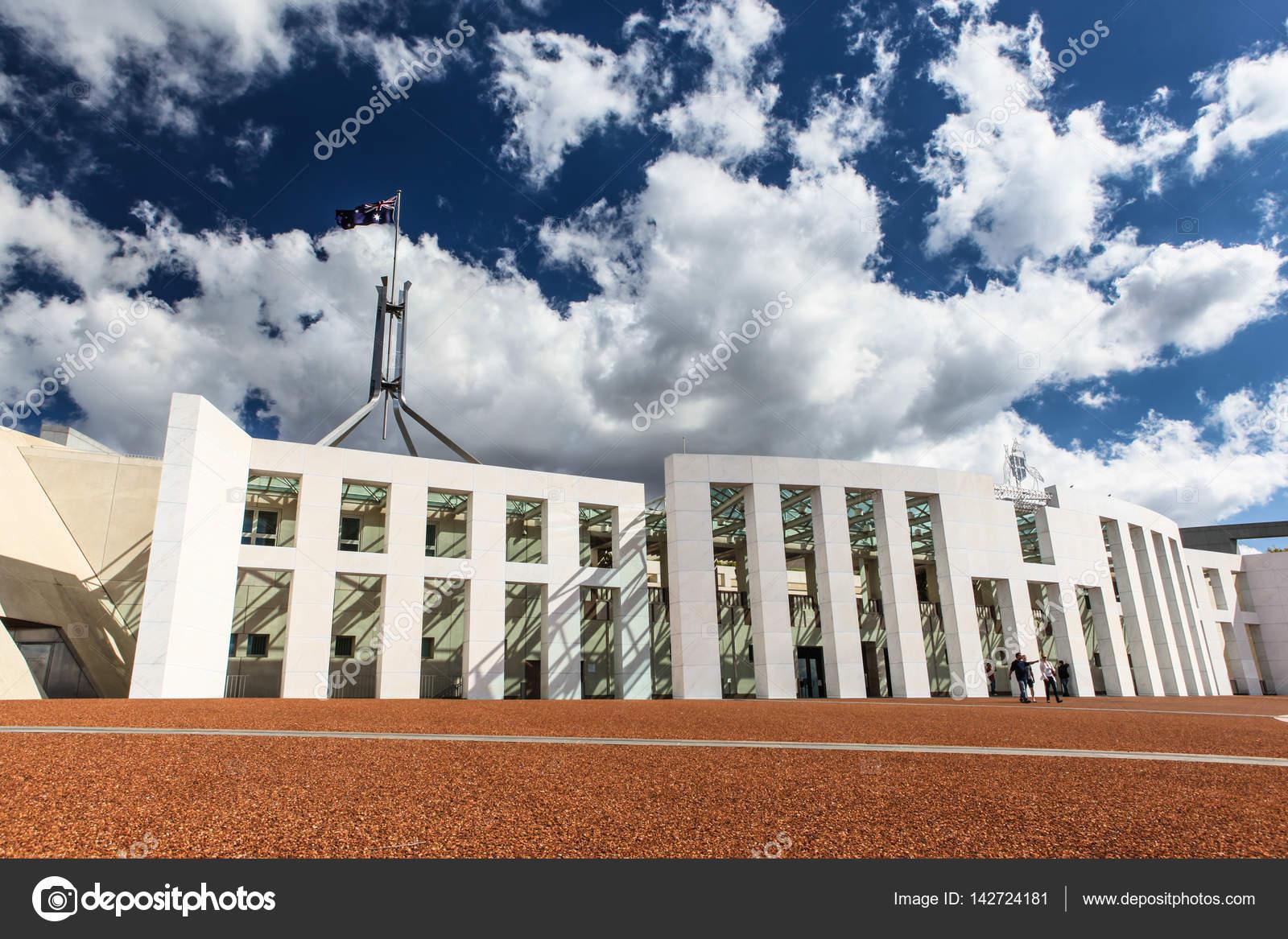 Australische nationale parlement huis in canberra u stockfoto