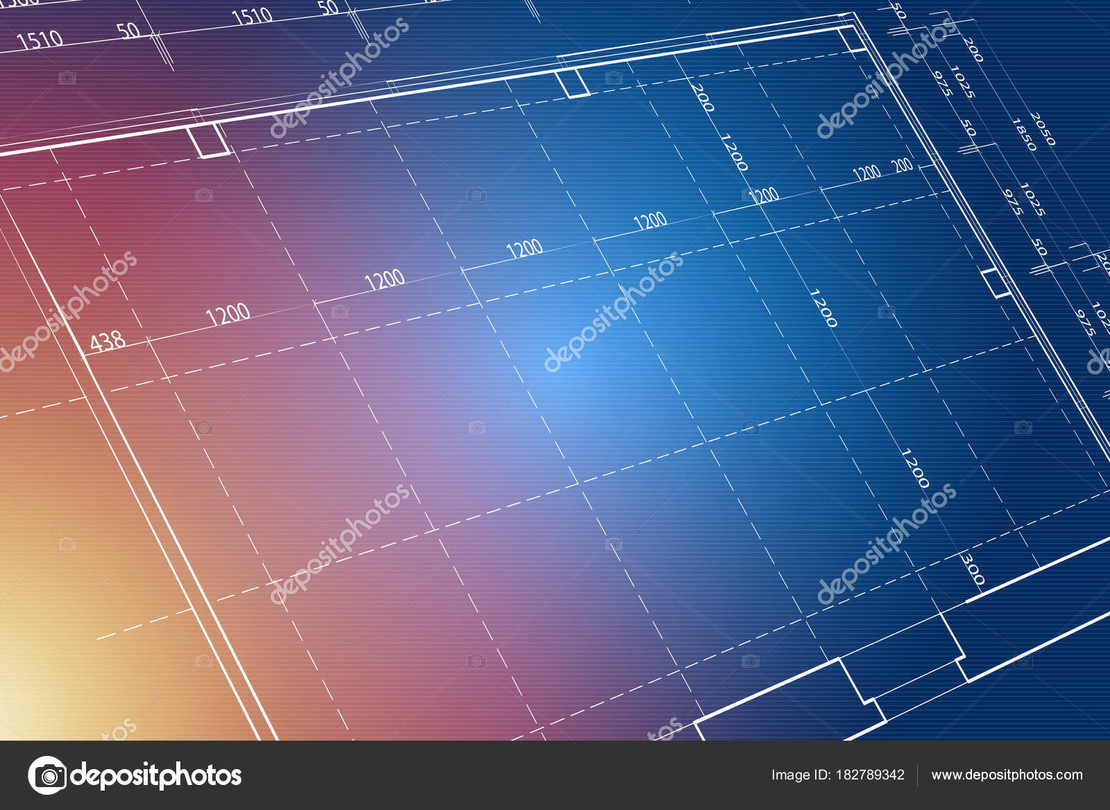 Blaupause-Hintergrund — Stockfoto © semisatch #182789342