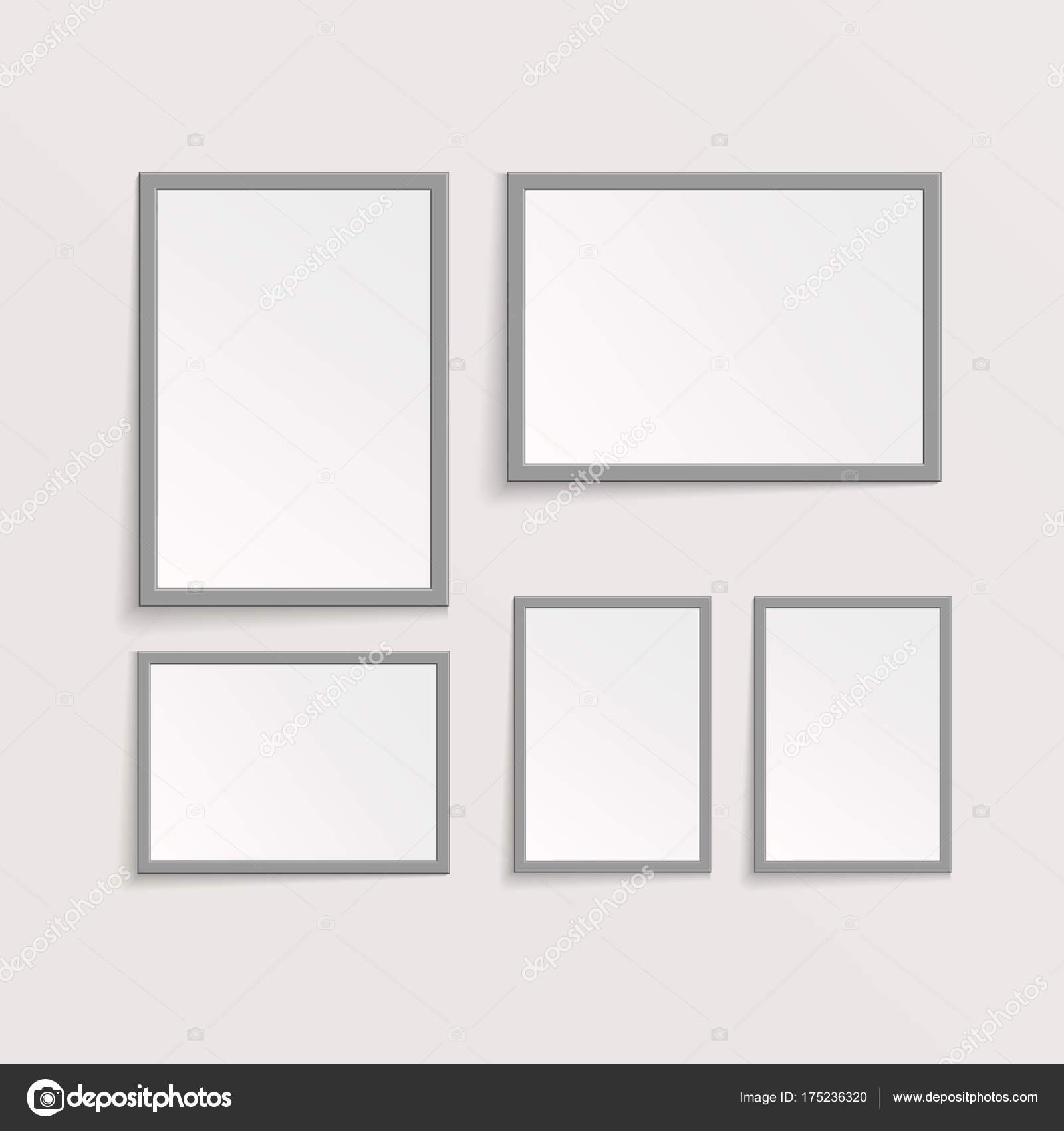 3D Bild oder Foto-Rahmen-Design. Vektor-Illustration — Stockvektor ...