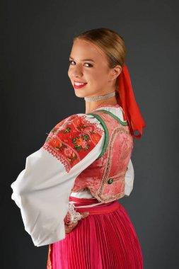 Slovakian girl dancer