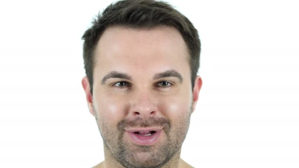 Usmívající se středním věku tvář