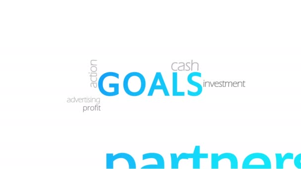 Ziele, Typografie-Animation
