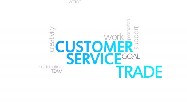 Customer Service, Animated Typography