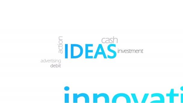 Ideen, Typografie-Animation