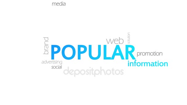 Popular, Animated Typography