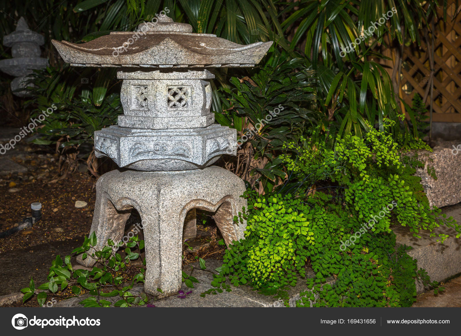 Stone Zen Garden Bamboo zen garden with stone lamp stock photo ms grafixx 169431656 bamboo zen garden with stone lamp photo by ms grafixx workwithnaturefo