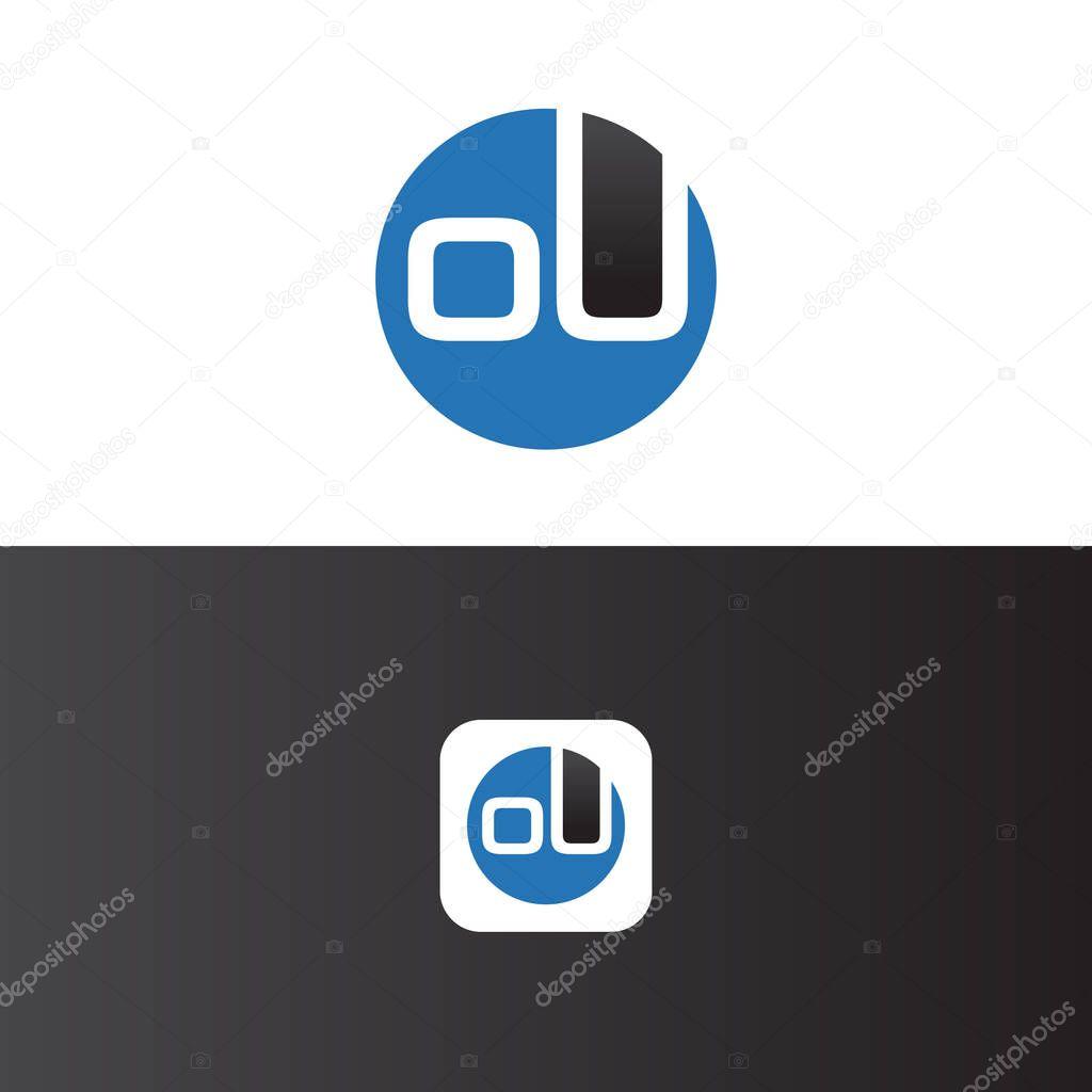 Ou Letter Logo Design Template Vector Premium Vector In Adobe Illustrator Ai Ai Format Encapsulated Postscript Eps Eps Format