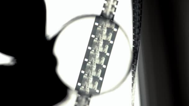 Fehér és fekete fólia, 16 mm-es nézett át a lumen. First-person nézet