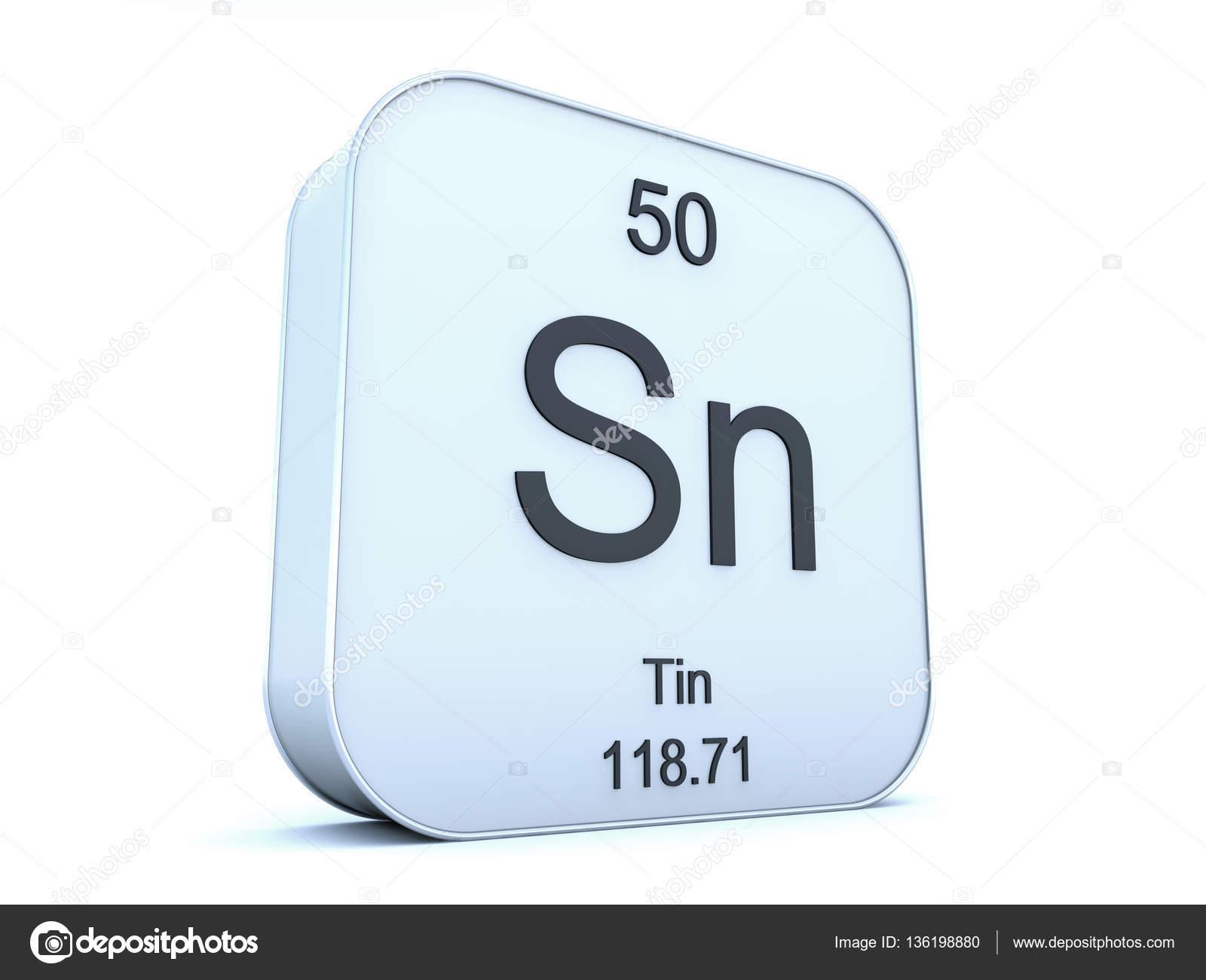 Tin element on white square icon stock photo conceptw 136198880 tin element symbol from the periodic table on white rounded square icon photo by conceptw urtaz Gallery