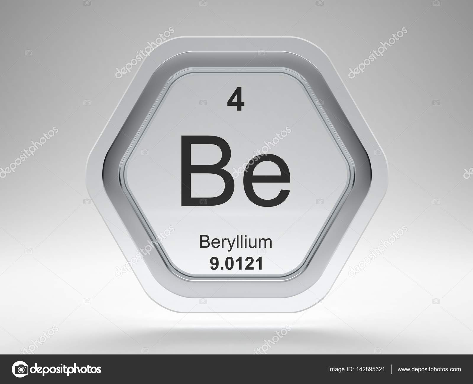 Beryllium element symbol stock photo conceptw 142895621 beryllium symbol on modern glass and steel icon photo by conceptw buycottarizona Image collections