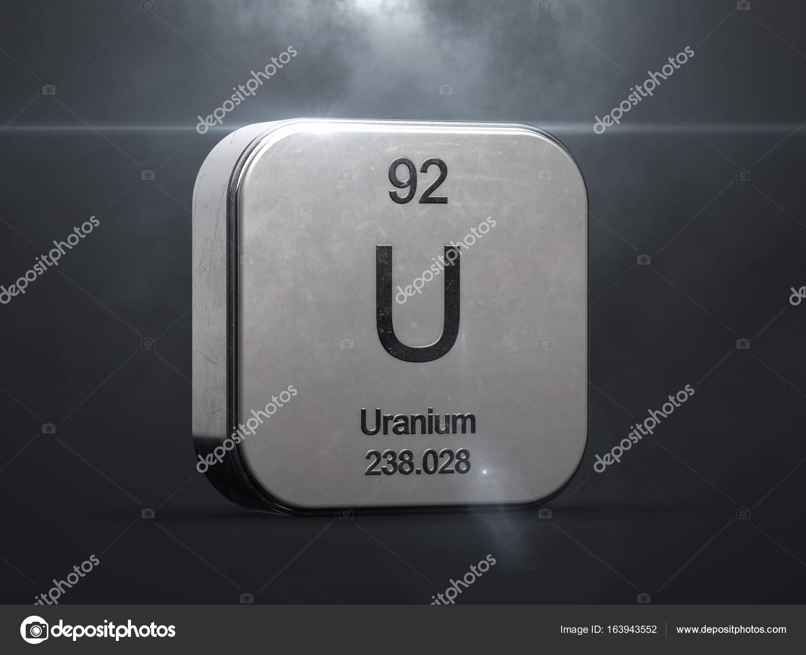 Uranium element from the periodic table stock photo conceptw uranium element from the periodic table stock photo buycottarizona Images