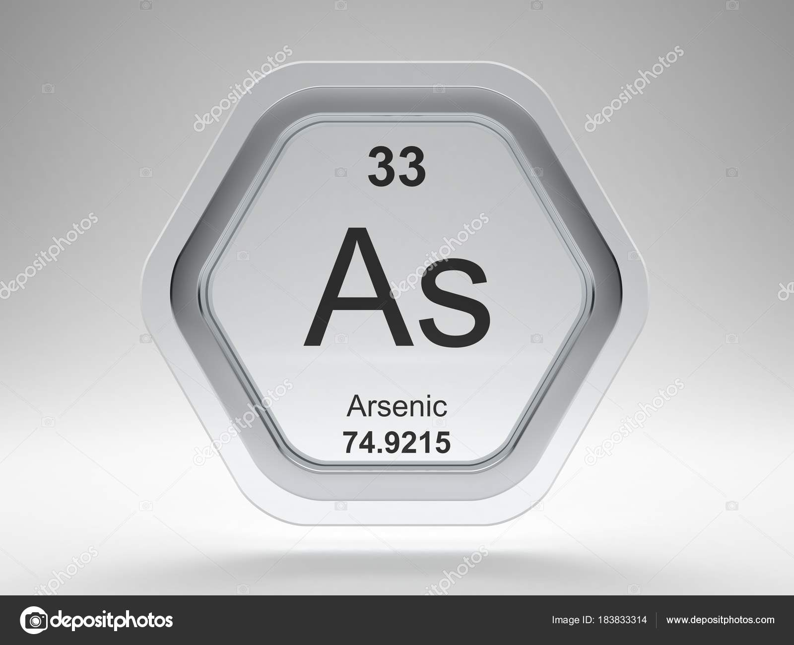 Arsenic symbol periodic table modern glass steel icon stock photo arsenic symbol from the periodic table on modern glass and steel icon photo by conceptw urtaz Gallery