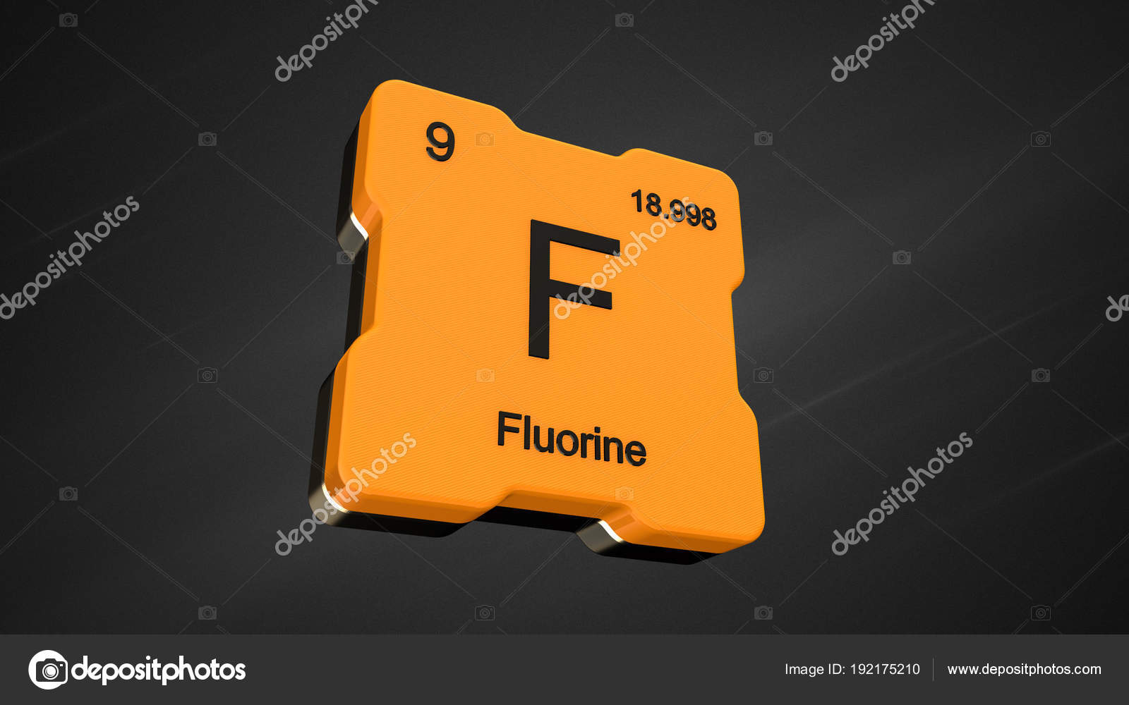 Fluorine element number periodic table futuristic yellow icon nice fluorine element number 9 from the periodic table on futuristic yellow icon and nice lens flare on noisy dark background 3d render photo by conceptw urtaz Choice Image