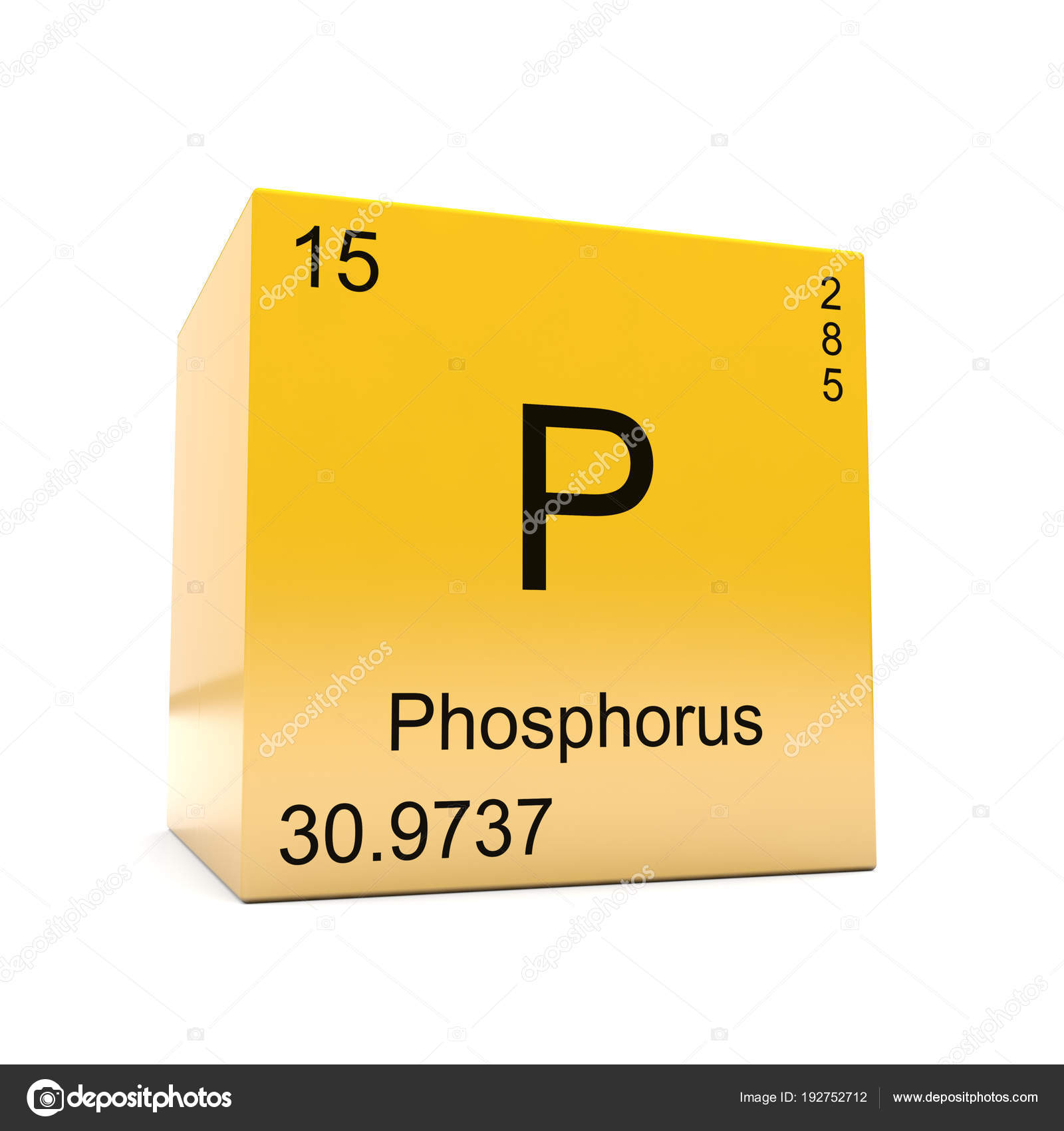 Phosphorus chemical element symbol periodic table displayed glossy phosphorus chemical element symbol periodic table displayed glossy yellow cube stock photo urtaz Images