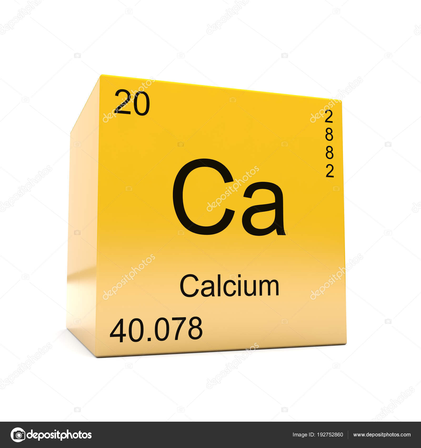 calcium element information - HD 1600×1700