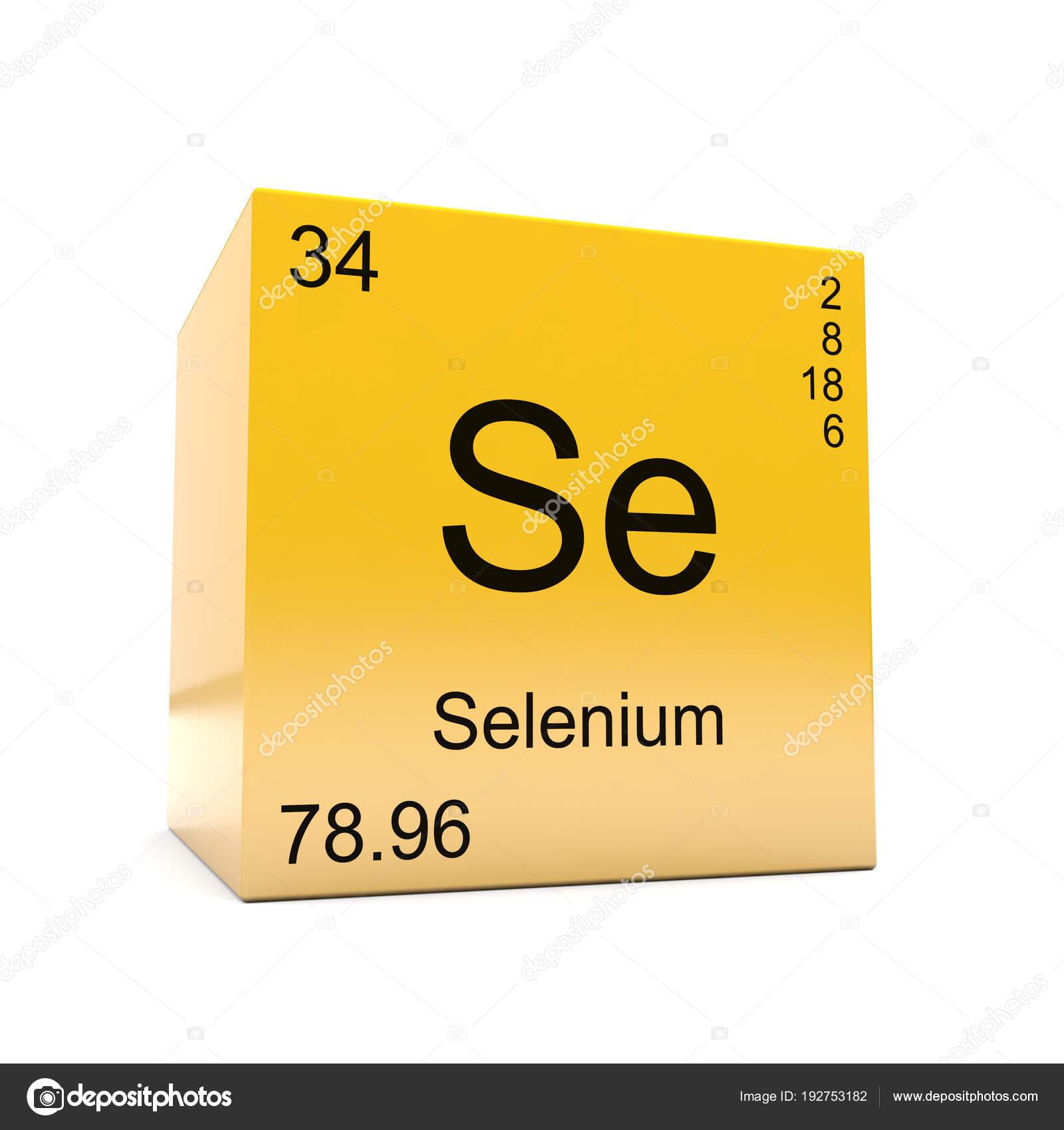 Smbolo del elemento qumico selenio tabla peridica aparecen cubo smbolo del elemento qumico selenio tabla peridica aparecen cubo amarillo fotos de stock urtaz Images