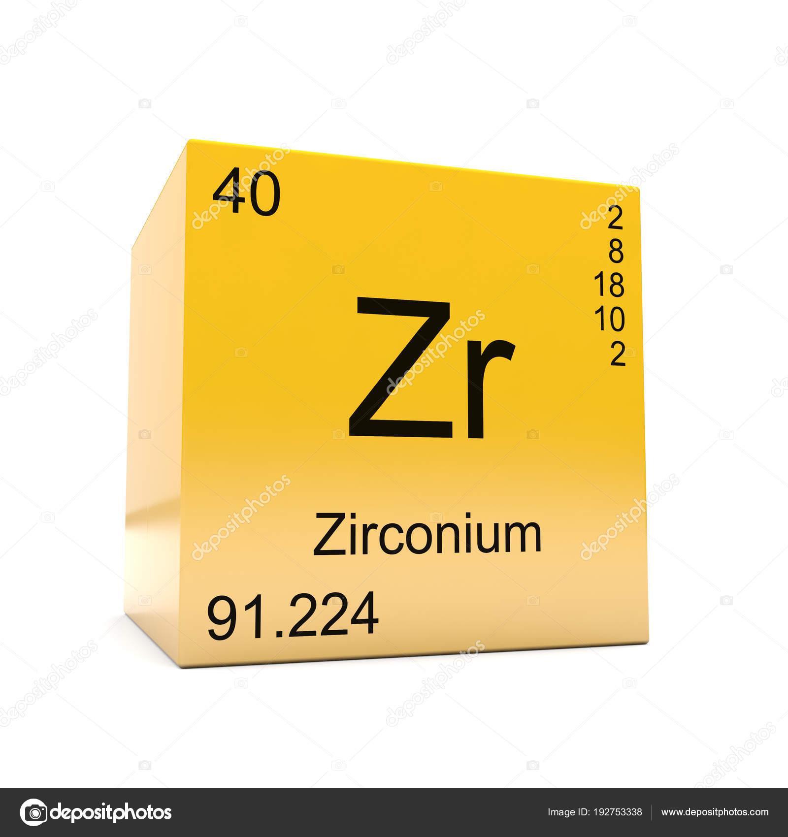 Smbolo del elemento qumico del circonio tabla peridica aparecen smbolo del elemento qumico del circonio tabla peridica aparecen cubo fotos de stock urtaz Image collections