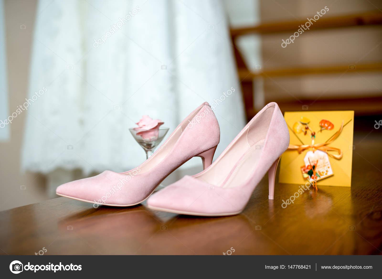 Hochzeitsschuhe Rosa Brautjungfer Hochzeits Accessoires