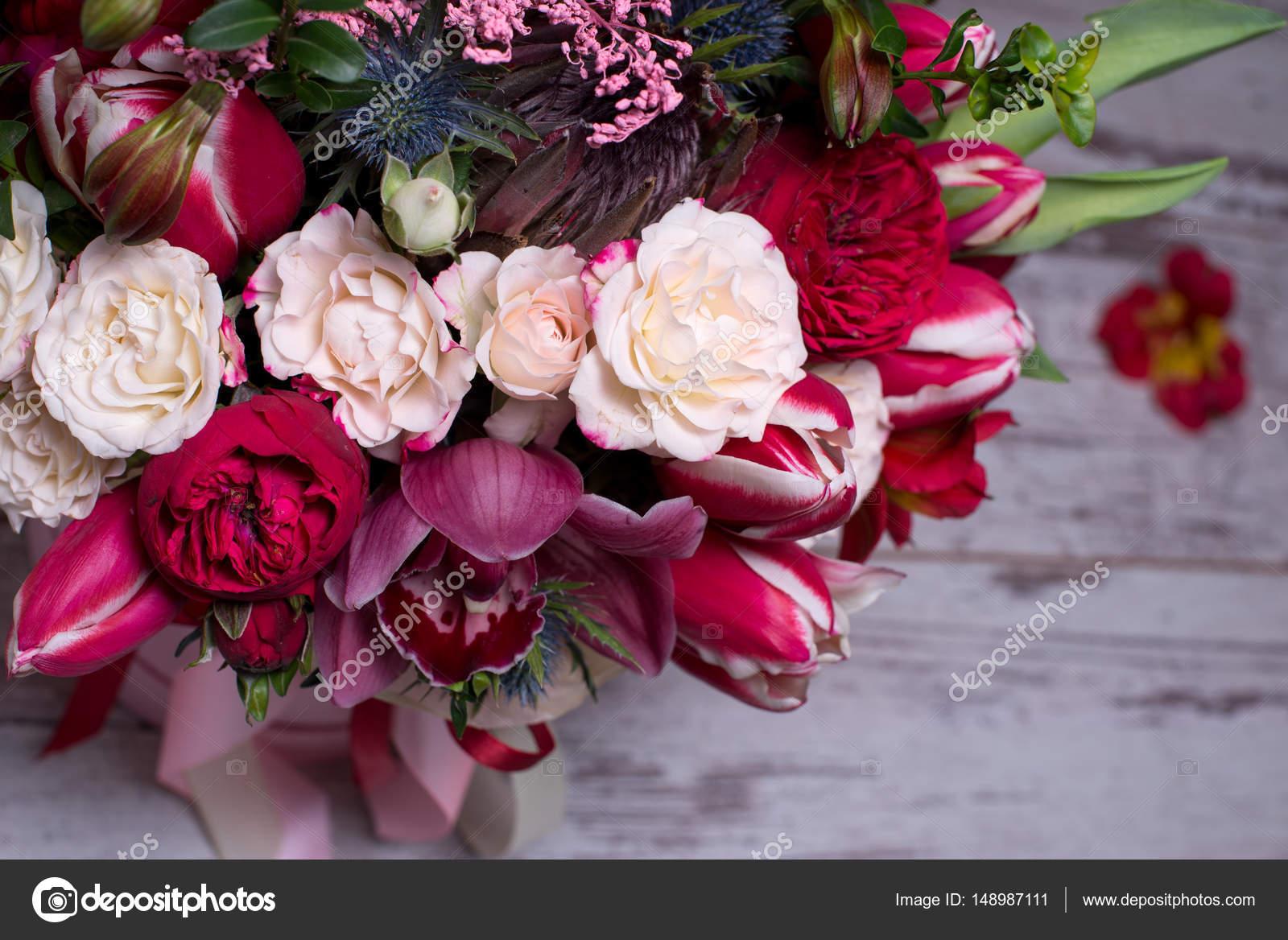 Imágenes Arreglos Florales Naturales Para Cumpleaños