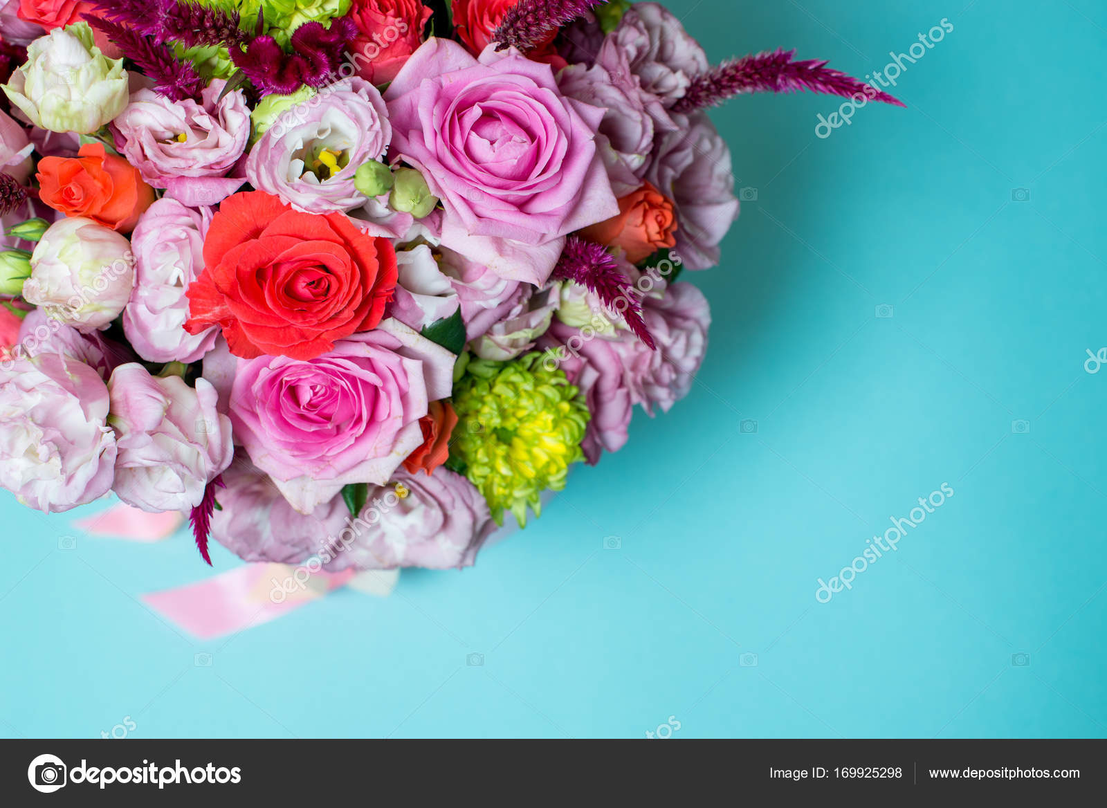 Fotos Arreglos De Rosas Azules Hermoso Arreglo Floral