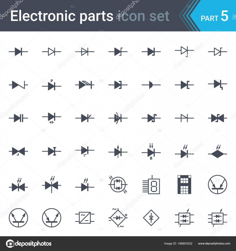 Berühmt Elektrische Diagramme Symbole Zeitgenössisch - Der ...