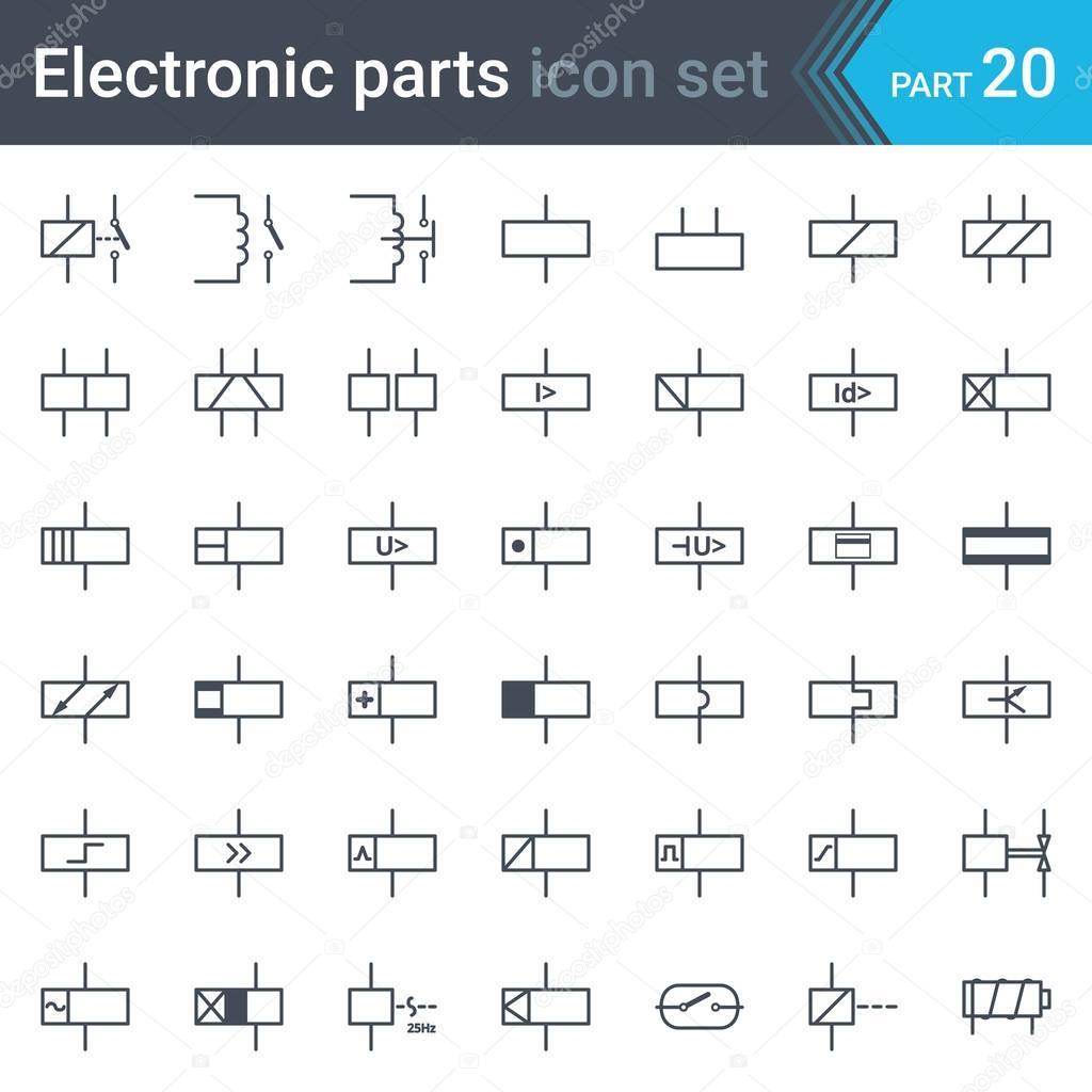 Fein Diagramm Der Elektrischen Symbole Zeitgenössisch - Elektrische ...